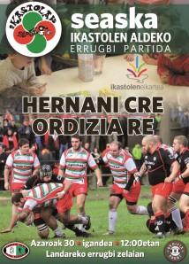 Hernani-Ordizia afitxa arina